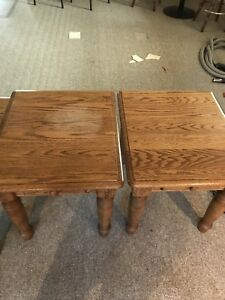 Solid Oak Mennonite Tables