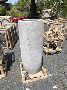 MODERN POTS PLANTERS GRINDED CONCRETE LIGHTWEIGHT Berry Shoalhaven Area Preview