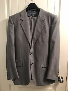 Silver two piece suit