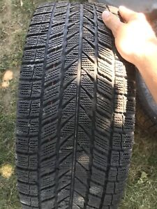 Winter tires and rims 5x114.3 18 inch