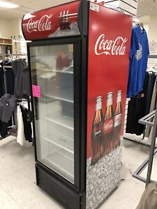 Brand New Coca-Cola Fridge, Fixtures, Bins, Liquidation Sale
