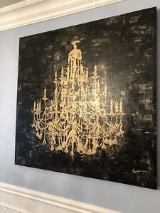 Chandelier Wall Art (4 pieces)