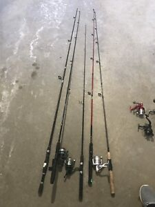 Reels and rods