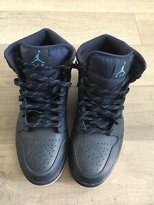 Air Jordan 1 Mid Size 11 Mens Shoes
