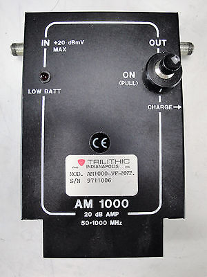 As-is - Trilithic Am1000 Preamplifier
