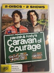 DVD Hamish & Andy's Caravan of Courage