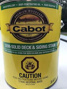 2 Gallons of Cabot Deck/Fence Stain only $25/each!!