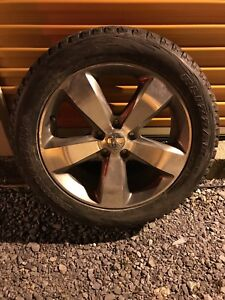 Grand Cherokee factory rims and Blizzak snow tires