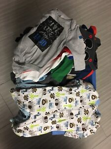 Lot de 28 mcx vêtements garçons 6 mois, 6-9 mois