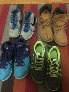 NIKES, KYRIES, TIMBERLAND, UNDER ARMER ,CURRYS