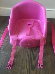 Safety First table booster seat pink