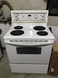 White working oven