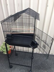 Brand NEW design bird cage & trolley set $80ea,ideal 4 handtame budgie Meadowbrook Logan Area Preview
