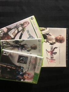 Final Fantasy XIII Trilogy (Xbox 360) + FF XIII-2 Guide