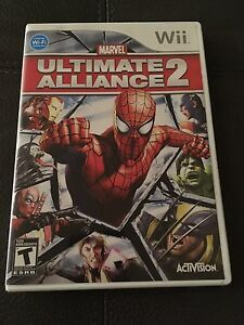 Wii game - Ultimate Alliance 2