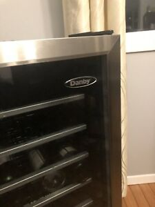 Danby wine fridge