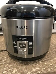 Krups 4 in 1 slow cooker
