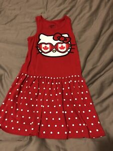 Size 5T Canada Day Dress