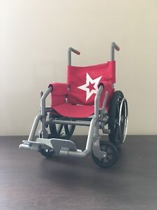 American Girl Doll Wheel Chair and Feel better kit
