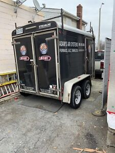 Dual axle 6x10 enclosed trailer