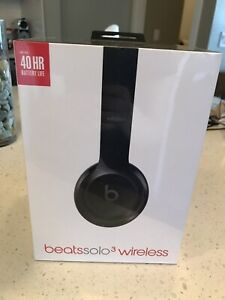 New/sealed Beats solo 3's