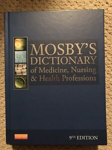 Mosbys dictionary of medicine textbook