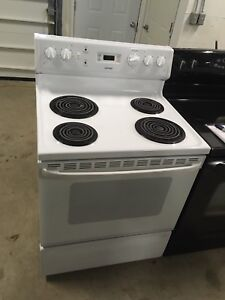 GE coil top stove NEW