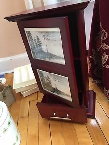 Real wooden album stand - perfect condition, bombay
