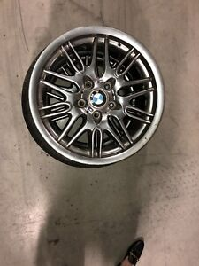 """17"""" BMW rims and tires"""