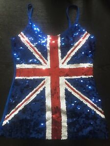 Spice Girl Sequin Top