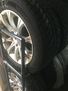 "17"" BMW winter tires on rims"