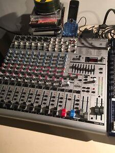 Console de mixage recherchée