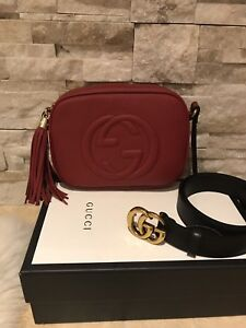Gucci bag and belt!