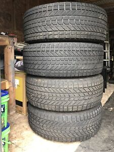Winter tires and rims for sale. 265-70-17. SOLD