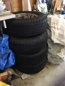 Tires and rim from Ford Ranger