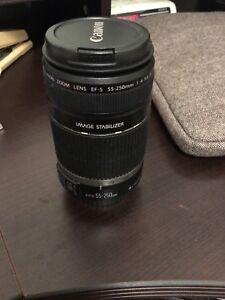 Canon Telescope lense EFS 55mm-250mm