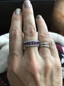 Amethyst Ring New