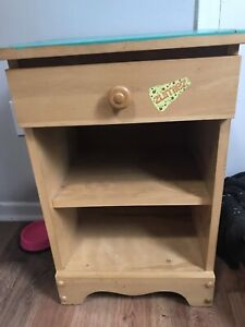 Nightstand and table