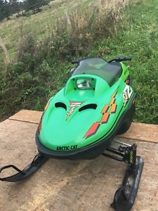 Arctic Cat mini  120 snowmobile