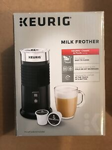 Keurig milk frother and 27 cup carousel