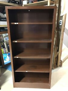 Vintage Industrial Metal Bookcase - Storage Unit