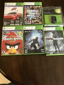 Lot of XBox 360 games and a New Memory Unit