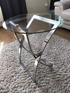 Coffee glass / verre table in perfect condition