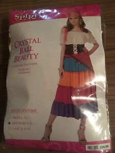 Gypsy Costume, size Medium