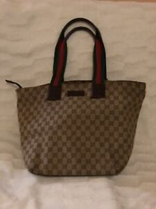 Gucci Sherry Tote. Authentic Vintage GG tote bag