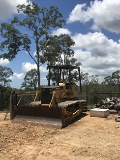 Bulldozer and driver for hire