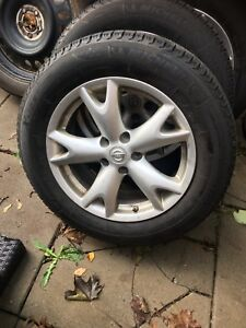 Nissan rouge winter tire package