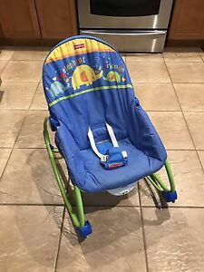Fisher Price infant to toddler vibrating chair