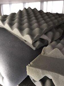 Acoustic Foam Tiles & Strips - 2 large bags worth Tenambit Maitland Area Preview