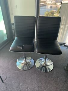 Two Bar chairs free to pick until 10am 17th or book time!